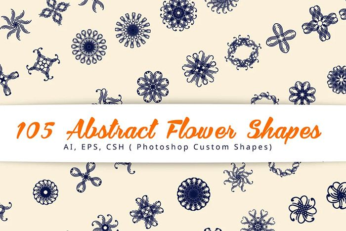Abstract Flower Shapes