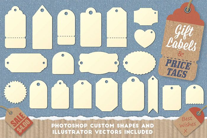 Gift Labels and Price Tags